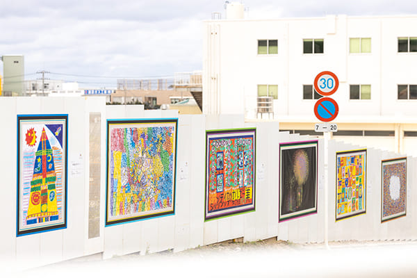 全日本仮囲いアートプロジェクトへの参画